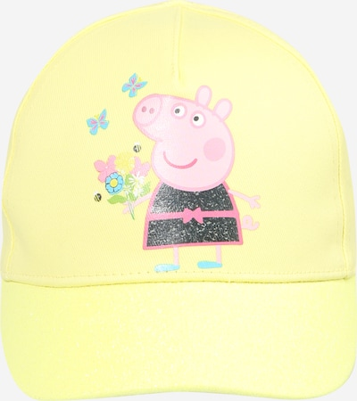 NAME IT Hoed 'PEPPA PIG' in de kleur Blauw / Donkerblauw / Geel / Pink, Productweergave