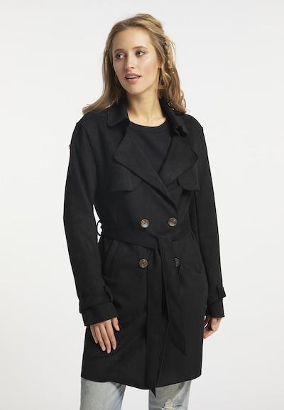 usha FESTIVAL Mantel in schwarz, Modelansicht
