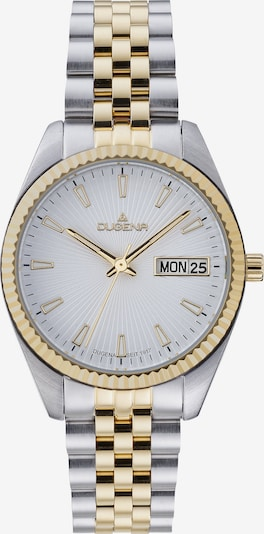DUGENA Analog Watch in Gold / Silver / White, Item view