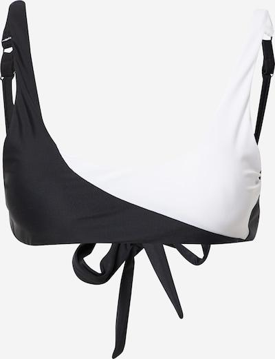 hunkemöller x NA-KD Hauts de bikini en noir / blanc, Vue avec produit