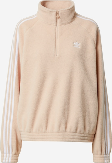 ADIDAS ORIGINALS Sweatshirt in de kleur Nude / Wit, Productweergave