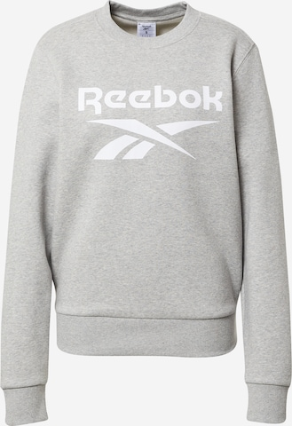 Reebok Sport Sportsweatshirt i grå