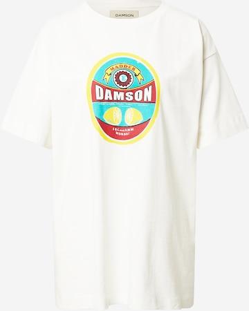 Damson Madder Shirt in White