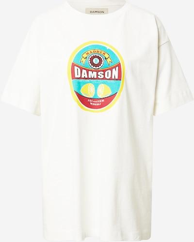 Damson Madder Shirt in türkis / gelb / rot / weiß, Produktansicht