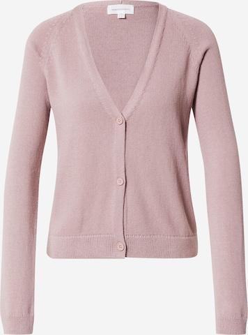 ARMEDANGELS Knit Cardigan 'Vanaa' in Pink