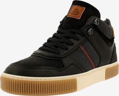 BULLBOXER Chaussure de sport à lacets en marron / noir, Vue avec produit