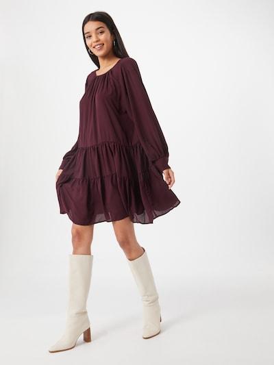 SELECTED FEMME Kleid in weinrot, Modelansicht