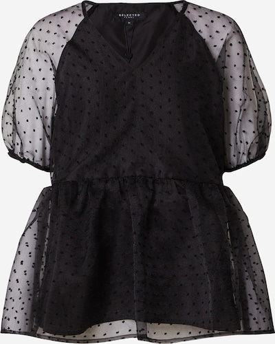 SELECTED FEMME Shirt 'Jytte' in schwarz, Produktansicht