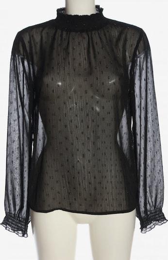 Seven Sisters Transparenz-Bluse in S in schwarz, Produktansicht