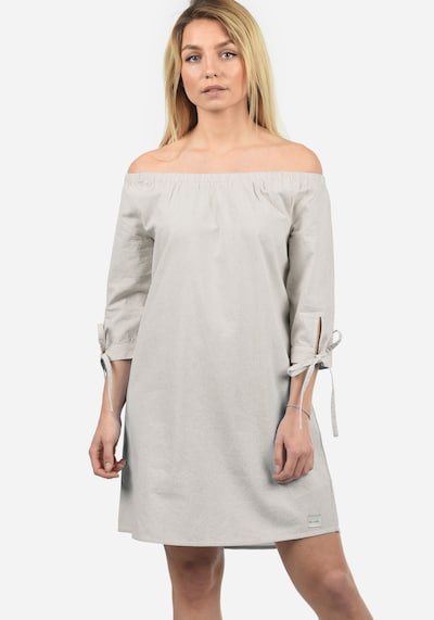 Blend She Off-Shoulder-Kleid 'Ophelia' in grau, Modelansicht
