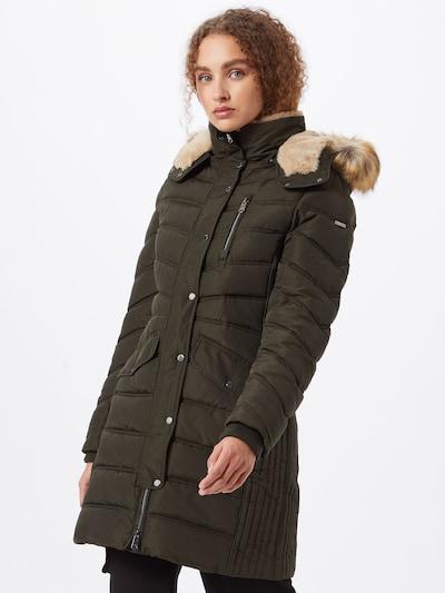 TOM TAILOR Zimný kabát - tmavozelená, Model/-ka