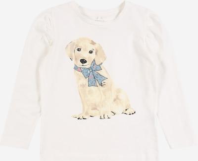 NAME IT Shirt 'TALIMA' in kitt / taubenblau / mischfarben / puder / weiß, Produktansicht