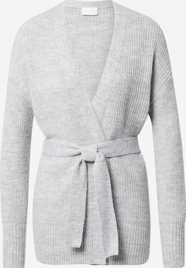 VILA Плетена жилетка 'YTAL' в сив меланж: Изглед отпред