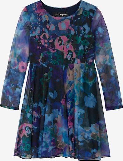 Desigual Robe 'VEST LIPA' en bleu nuit / mélange de couleurs, Vue avec produit