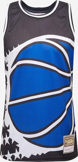 Maglietta 'BLOWN OUT FASHION' Mitchell & Ness di colore blu / nero / bianco, Visualizzazione prodotti