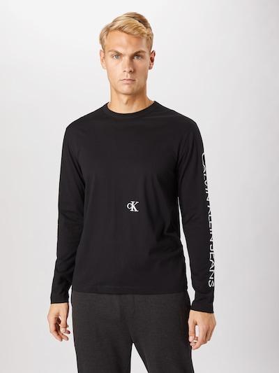 Calvin Klein Jeans Majica u siva / crna: Prednji pogled