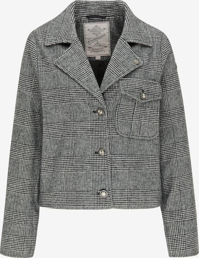 DreiMaster Vintage Blazer en negro / blanco, Vista del producto