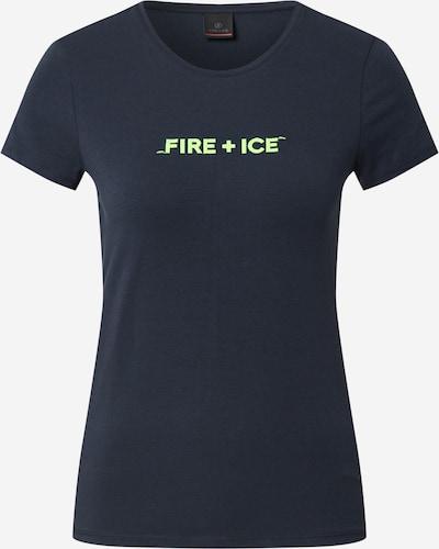 Bogner Fire + Ice T-shirt 'AUREA' en bleu foncé / kiwi, Vue avec produit