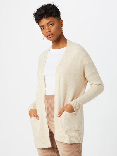 ONLY Strickjacke 'Simone' in beige, Modelansicht