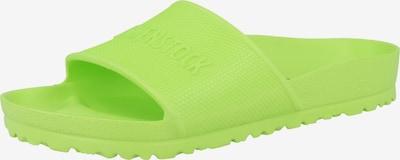 BIRKENSTOCK Pantolette in neongrün, Produktansicht