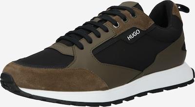 Sneaker low 'Icelin' HUGO pe kaki / verde închis / negru, Vizualizare produs