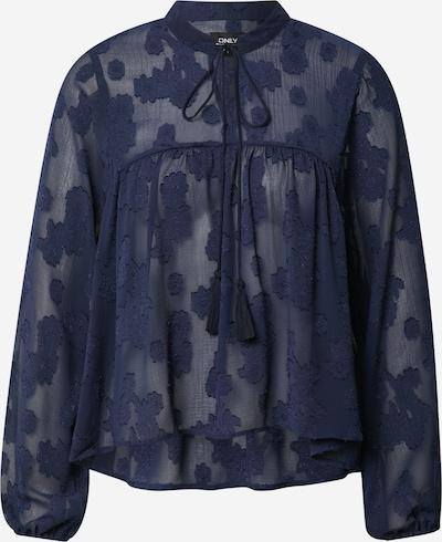 ONLY Bluse 'ELISA' in dunkelblau, Produktansicht