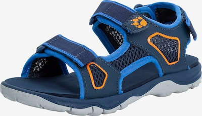 JACK WOLFSKIN Outdoorsandale 'Taraco' in navy / royalblau / orange, Produktansicht