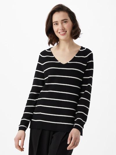 ESPRIT Pullover in schwarz / weiß, Modelansicht