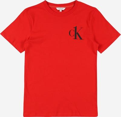 Calvin Klein Underwear T-Shirt in rot / schwarz, Produktansicht