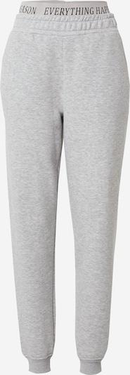 ABOUT YOU Limited Pantalon 'Anna' en gris chiné: Vue de face