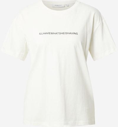Tricou 'Liv' MOSS COPENHAGEN pe negru / alb, Vizualizare produs