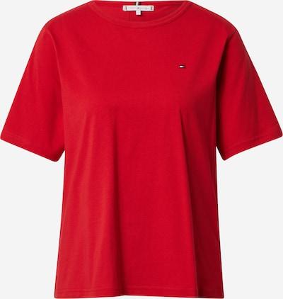 Tricou TOMMY HILFIGER pe albastru închis / roșu / alb, Vizualizare produs