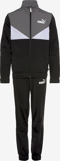 PUMA Tracksuit in Grey / Black / White, Item view