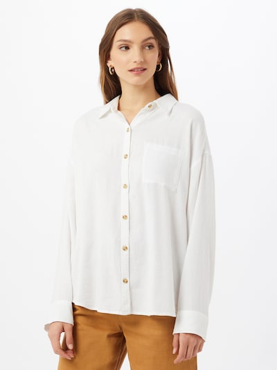 HOLLISTER Blouse in White, View model