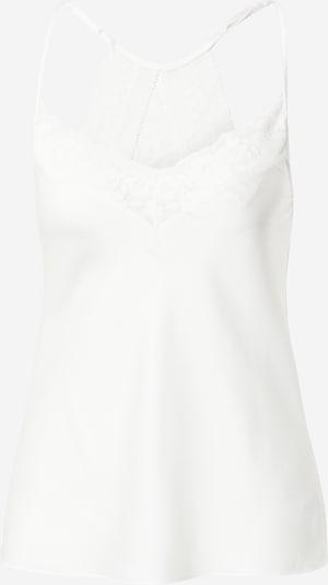 ETAM Majica za spanje 'FLOWERS' | bela barva, Prikaz izdelka