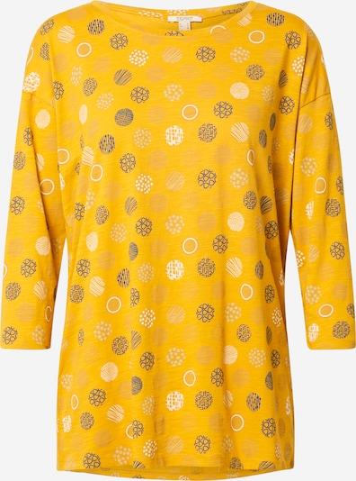 ESPRIT Shirt 'CORE' in gelb / mischfarben, Produktansicht