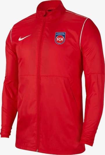 NIKE Athletic Jacket in Blue / Fire red, Item view