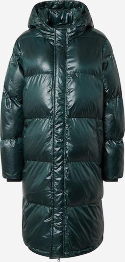 MADS NORGAARD COPENHAGEN Mantel 'Shiny Poly Jolene' in dunkelgrün, Produktansicht