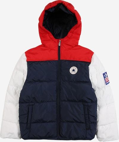 CONVERSE Jacke in dunkelblau / rot / weiß, Produktansicht