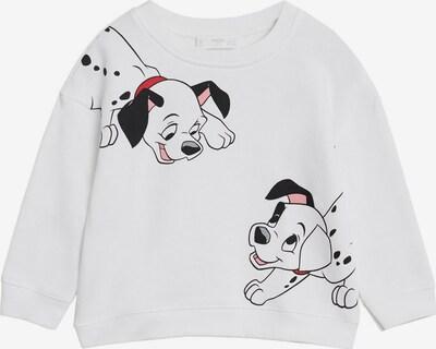 MANGO KIDS Sweatshirt 'DALMATAS' in schwarz / weiß, Produktansicht