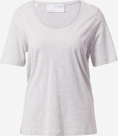 SELECTED FEMME T-Shirt in hellgrau, Produktansicht
