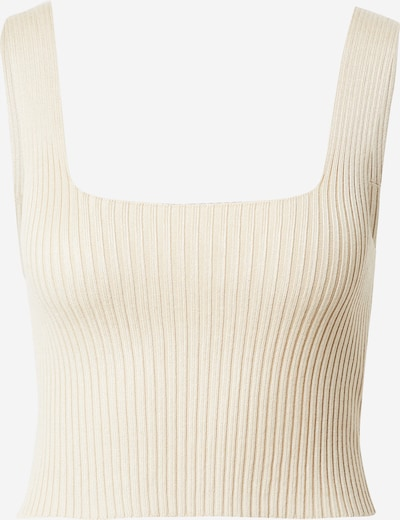 Gina Tricot Knitted top 'Harper' in Beige, Item view