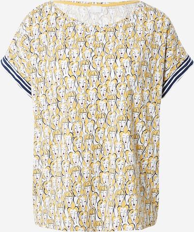Mey Schlafshirt 'Samantha' in dunkelblau / gelb / rot / weiß, Produktansicht