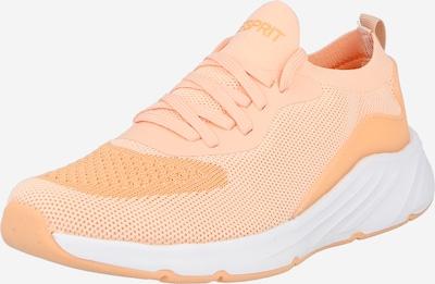 Sneaker low 'Liverpool' ESPRIT pe portocaliu caisă / portocaliu pastel, Vizualizare produs