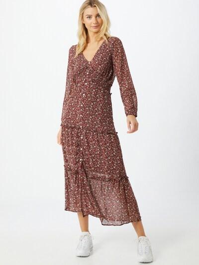 Pimkie Kleid 'D-Oflouz' in mischfarben / rostrot, Modelansicht