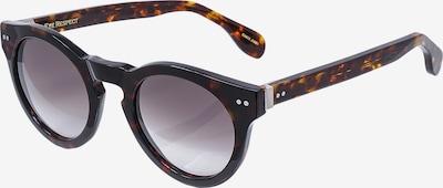 EYE RESPECT Retrosonnenbrille 'STEVEN II' in beige / braun, Produktansicht