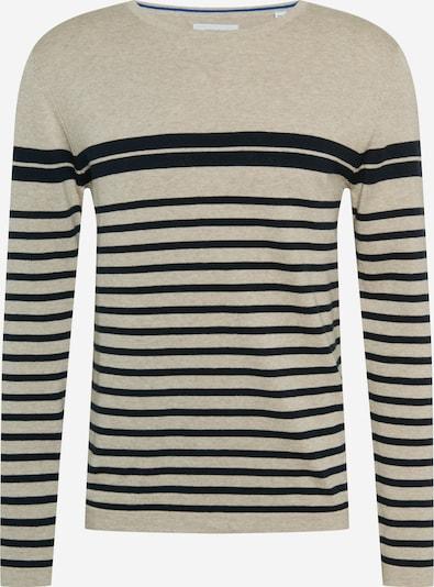 Pullover 'AUGUST' JACK & JONES di colore beige / nero, Visualizzazione prodotti
