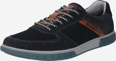 bugatti Športové šnurovacie topánky 'Prato' - tmavomodrá / karamelová, Produkt