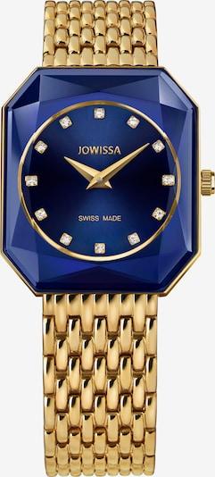 JOWISSA Analoog horloge 'FACET RADIANT' in de kleur Blauw / Goud, Productweergave