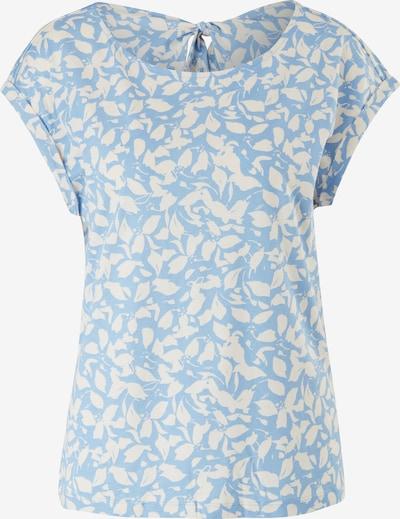 s.Oliver T-Shirt in de kleur Lichtblauw / Wit, Productweergave